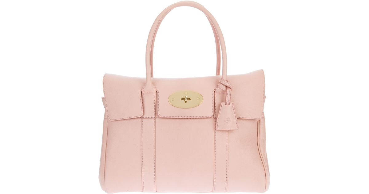 f22629258e2c Lyst - Mulberry Bayswater Bag in Pink