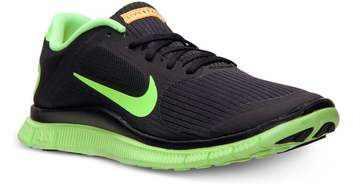 dc261f5850d05 Lyst - Nike Free 40 V3 Livestrong Running Sneakers in Green for Men