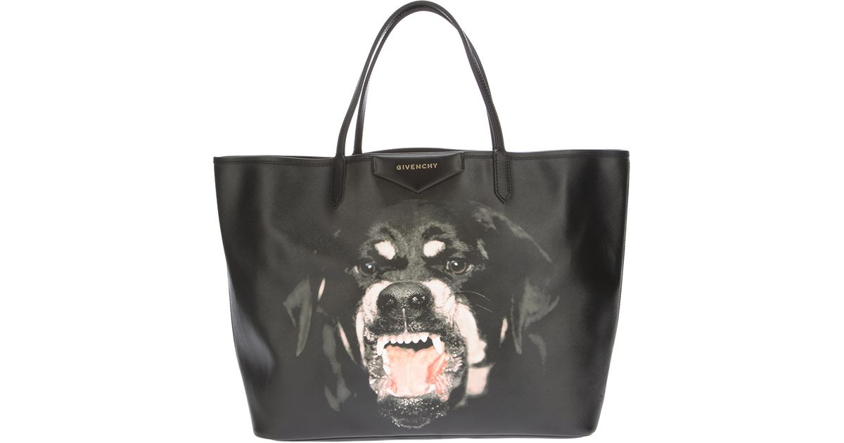 0db274007e Givenchy Antigona Large Shopping Tote in Black - Lyst