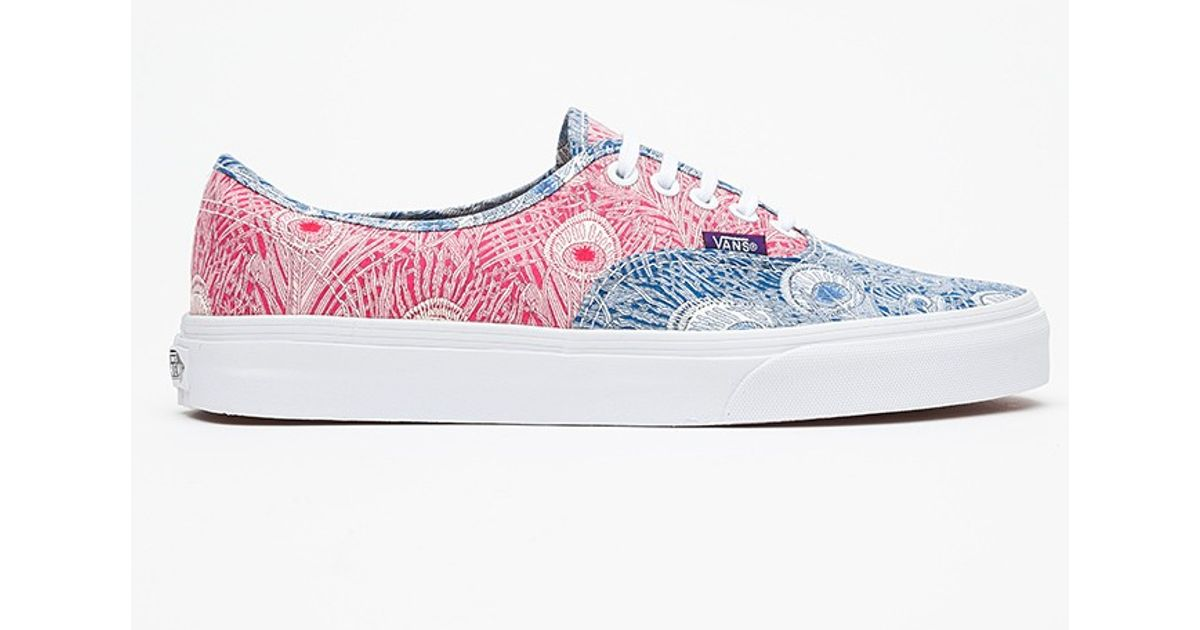 359f4eb7df Lyst - Vans Liberty Authentic in Peacock for Men