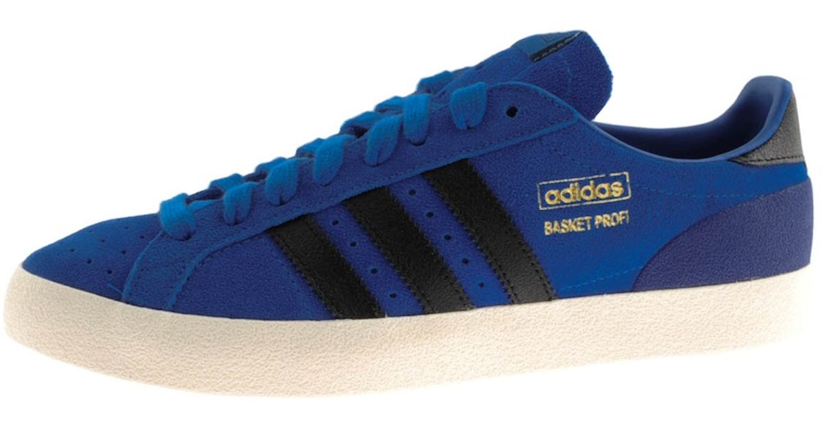cheap for discount 70356 35c4e Adidas - Blue Originals Basket Profi Lo Trainers for Men - L