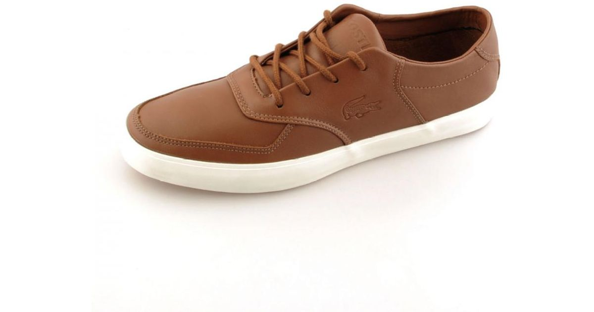 96488242006257 Lyst - Lacoste Glendon 3 Srm Trainers in Brown for Men