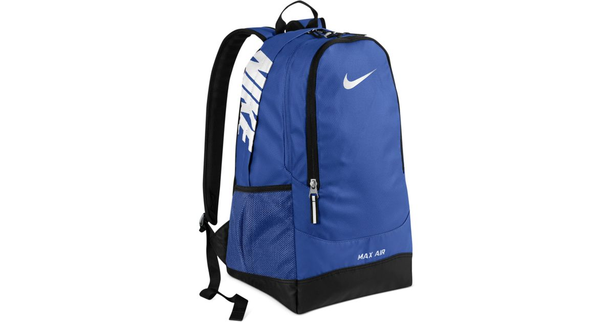 47cb165619fc Lyst - Nike Team Training Max Air Large Backpack in Blue for Men