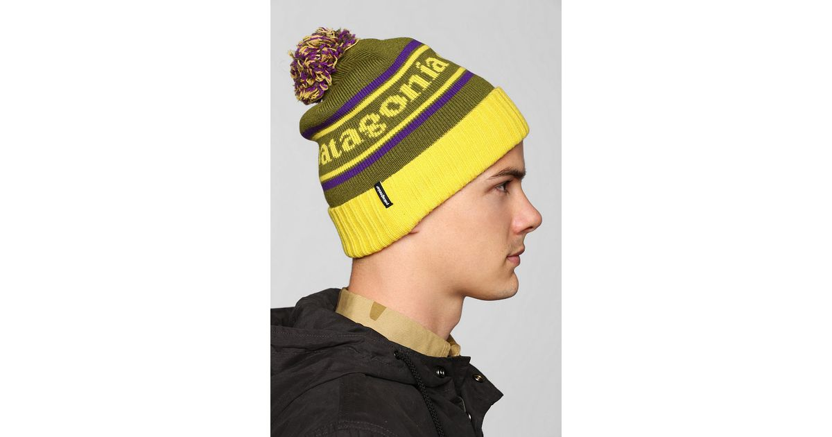 Lyst - Urban Outfitters Patagonia Powder Town Beanie in Green for Men 228cb7b29fd