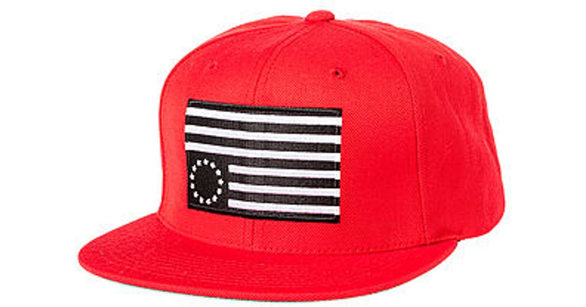 4cff8367eac Lyst - Black Scale The Rebel Slam Hat in Red for Men