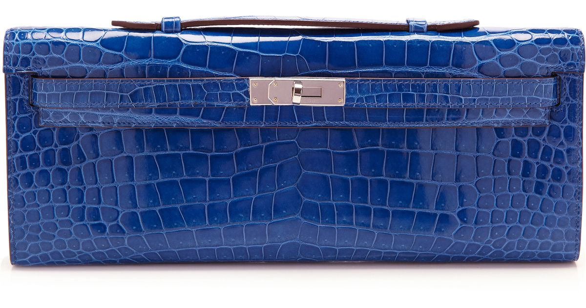 what is the price of a hermes birkin bag - hermes blue sapphire swift leather kelly cut