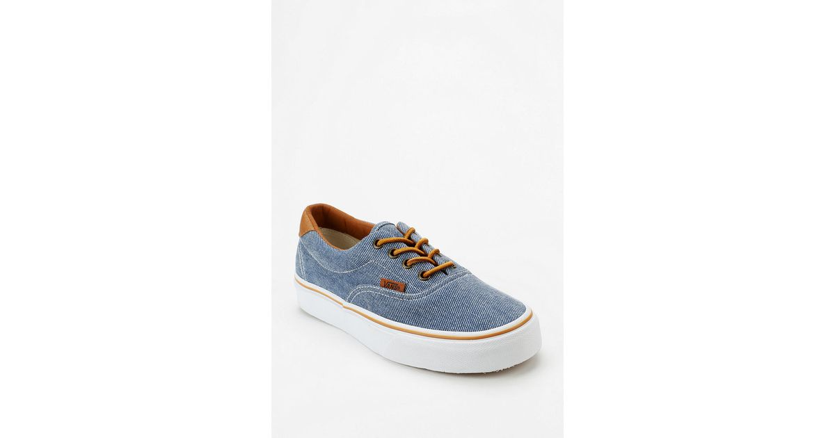67164a893a79 Lyst - Urban Outfitters Vans Era 59 Washed Twill Womens Sneaker in Blue