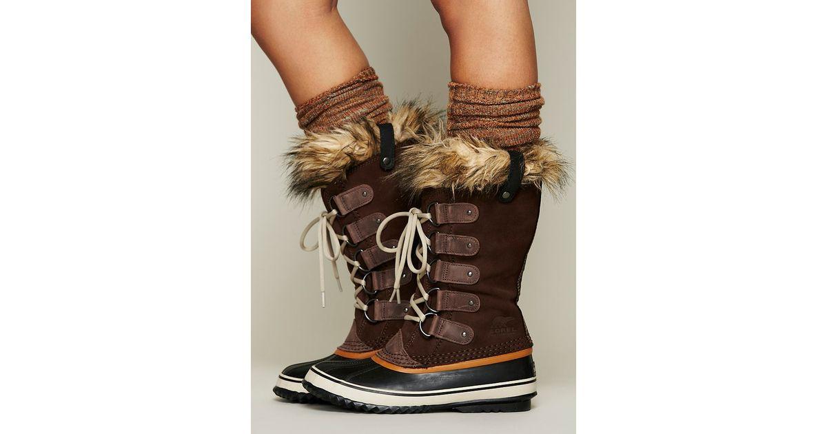 64385f804da1 Sorel Joan Of Arctic Boot in Brown - Lyst