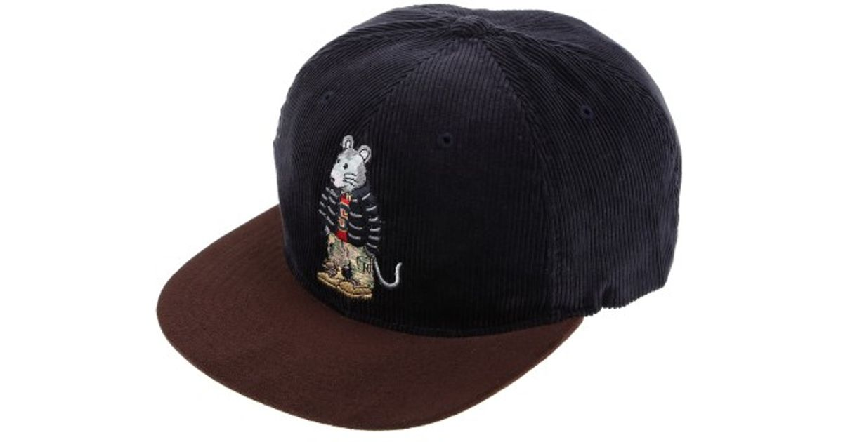 2f452828fb7 stussy rat corduroy snapback hat stussy rat corduroy snapback hat ...