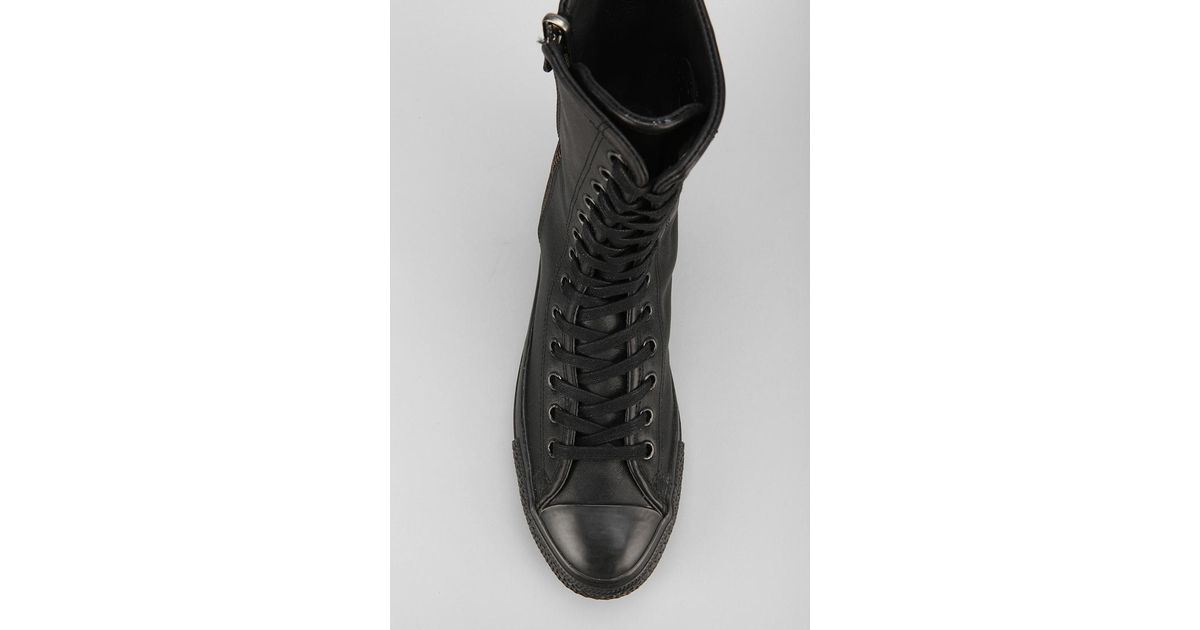 7379f73f491706 Lyst - Urban Outfitters Chuck Taylor All Star Extra High Top Sneaker in  Black for Men