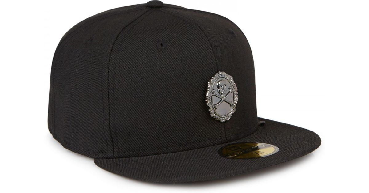 Black Scale Afterlife New Era Wool Twill Cap in Black for Men - Lyst 55ccb68b24f