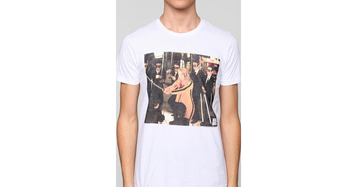 faab9e77c Urban Outfitters Junk Food Kill Bill Tee in White for Men - Lyst