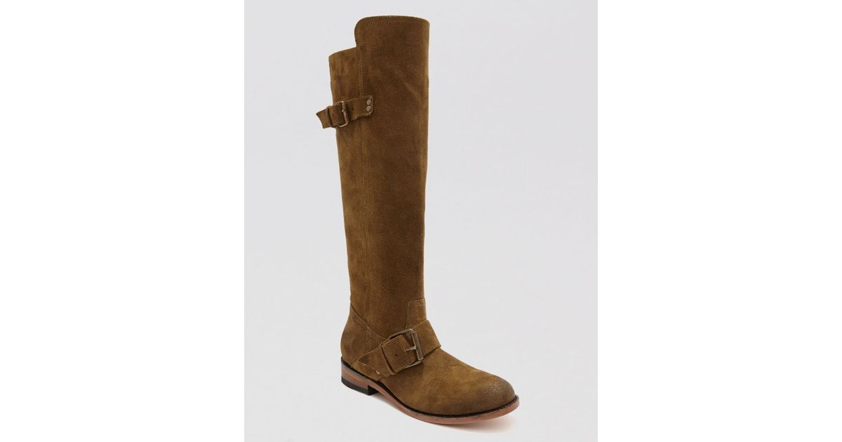 37dc1c162cf Lyst - Dolce Vita Tall Boots Lucianna in Green