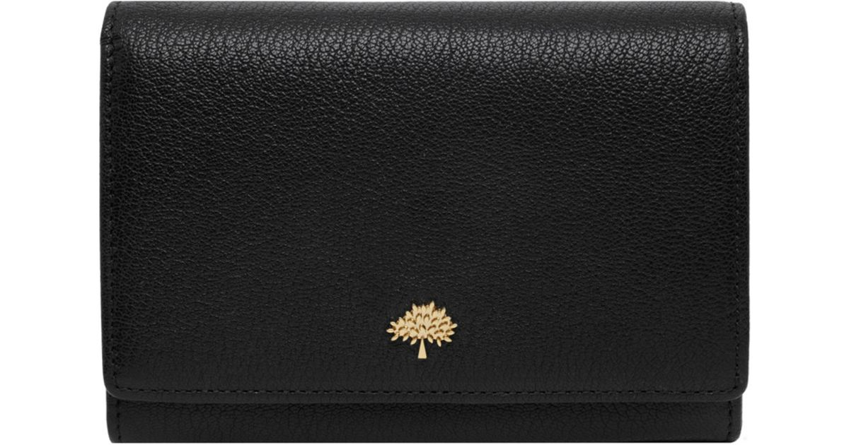 99541b8088 Mulberry Tree French Purse in Black - Lyst