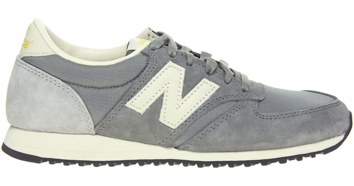 new balance 420 black and grey trainers