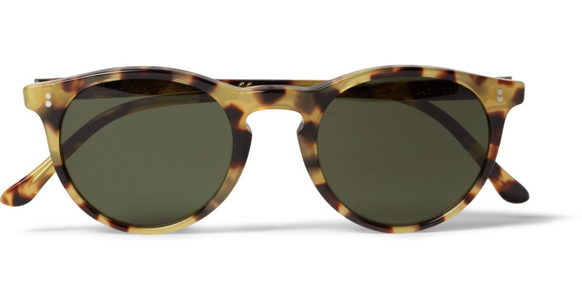 Spencer Tortoiseshell Oliver Sunglasses Sid In Lyst Roundframe xwCv5qH00I