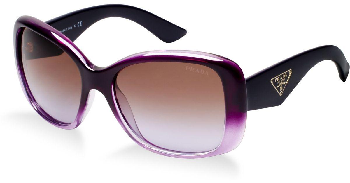 0261fa771d4 Lyst - Prada Sunglasses Pr 32ps in Purple