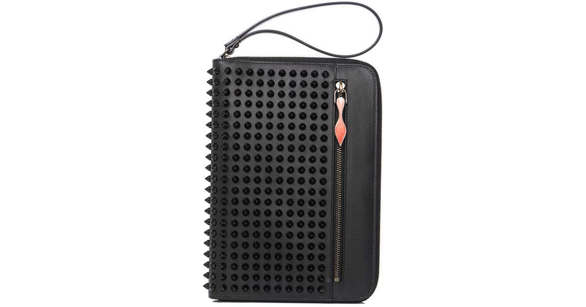 e12178c18ed5 Lyst - Christian Louboutin Cris Spike Ipad Mini Case in Black