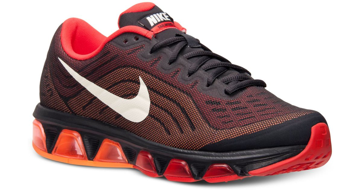 quality design 58460 84c54 ... italy lyst nike mens air max tailwind 6 running sneakers from finish  line in black for