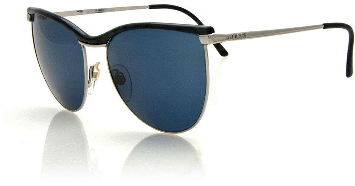 24c83c14337ff Gucci Butterfly Sunglasses Black