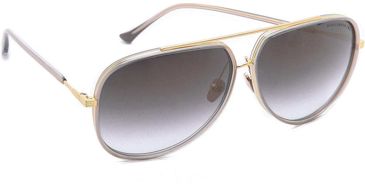 ab697d9a908e Dita Condor Aviator Sunglasses Pink