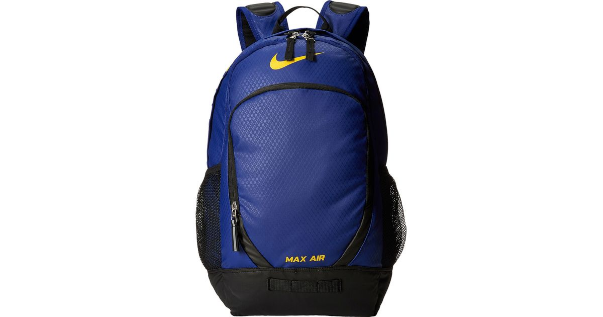 e4ee533977 Lyst - Nike Team Training Max Air Large Backpack in Blue