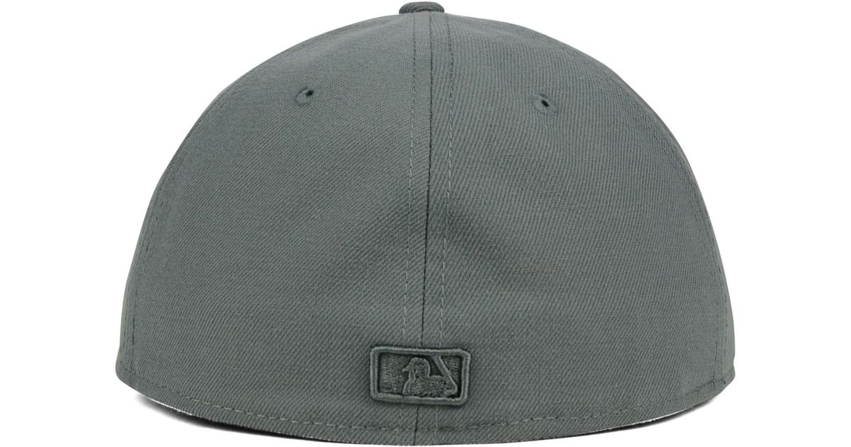 bd305ef0803 ... coupon code for lyst ktz chicago white sox ton wool 59fifty cap in gray  for men