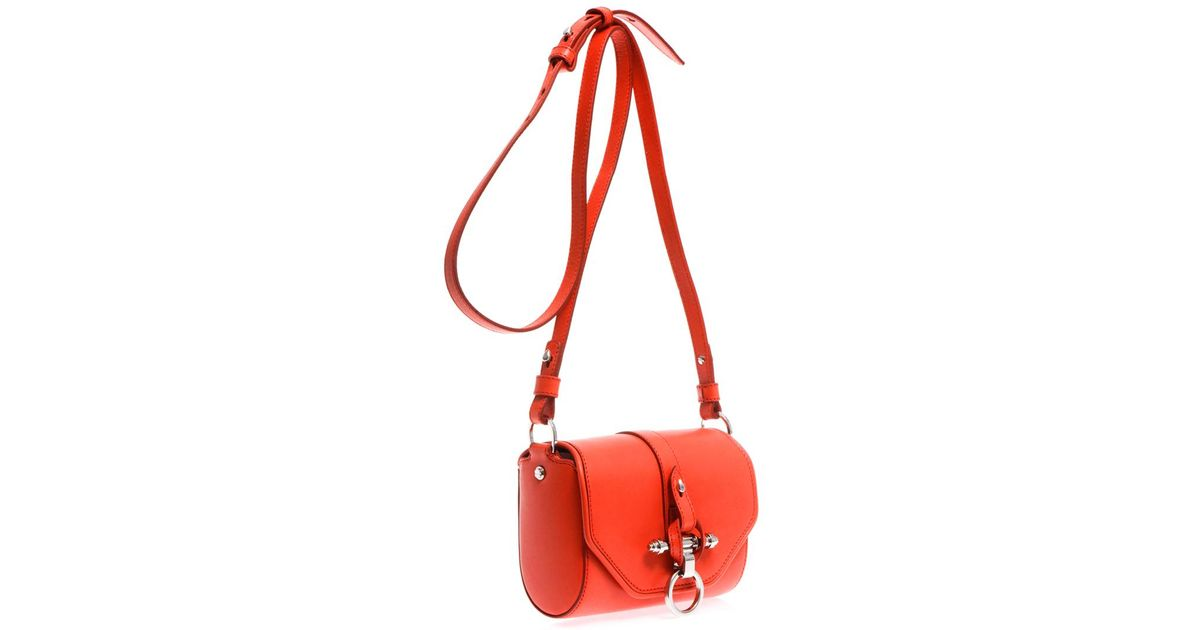 0073b52966 Lyst - Givenchy Obsedia Leather Crossbody Bag in Red