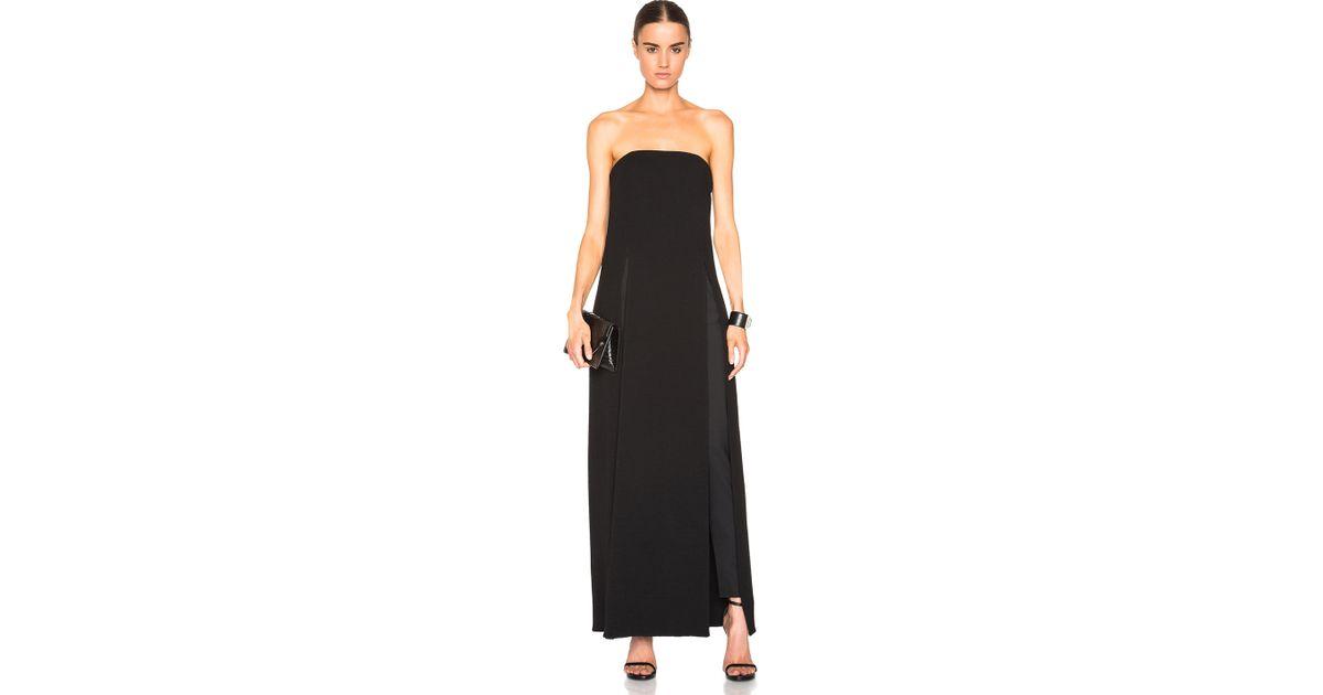 Naya bustier maxi dress