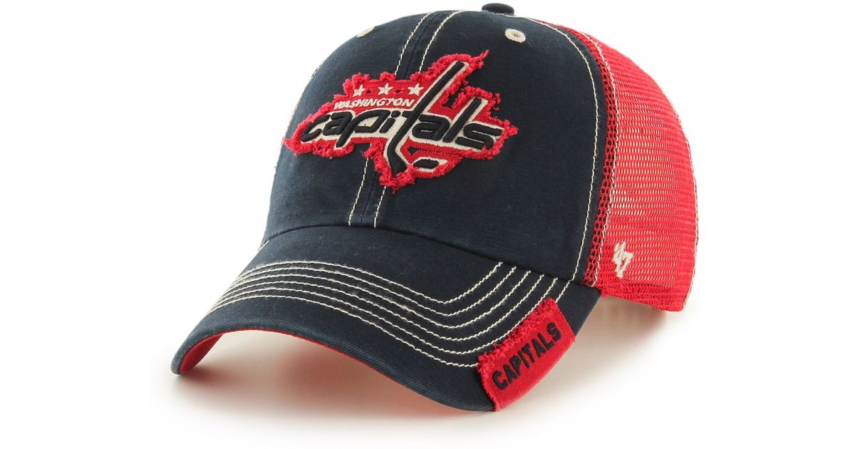 03fe4cc5 ... discount code for lyst 47 brand washington capitals hooch clean up cap  in blue for men