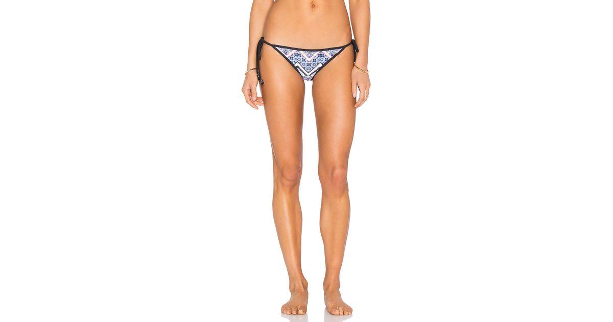 Shoshanna Moroccan Tile String Bikini Bottom Lyst