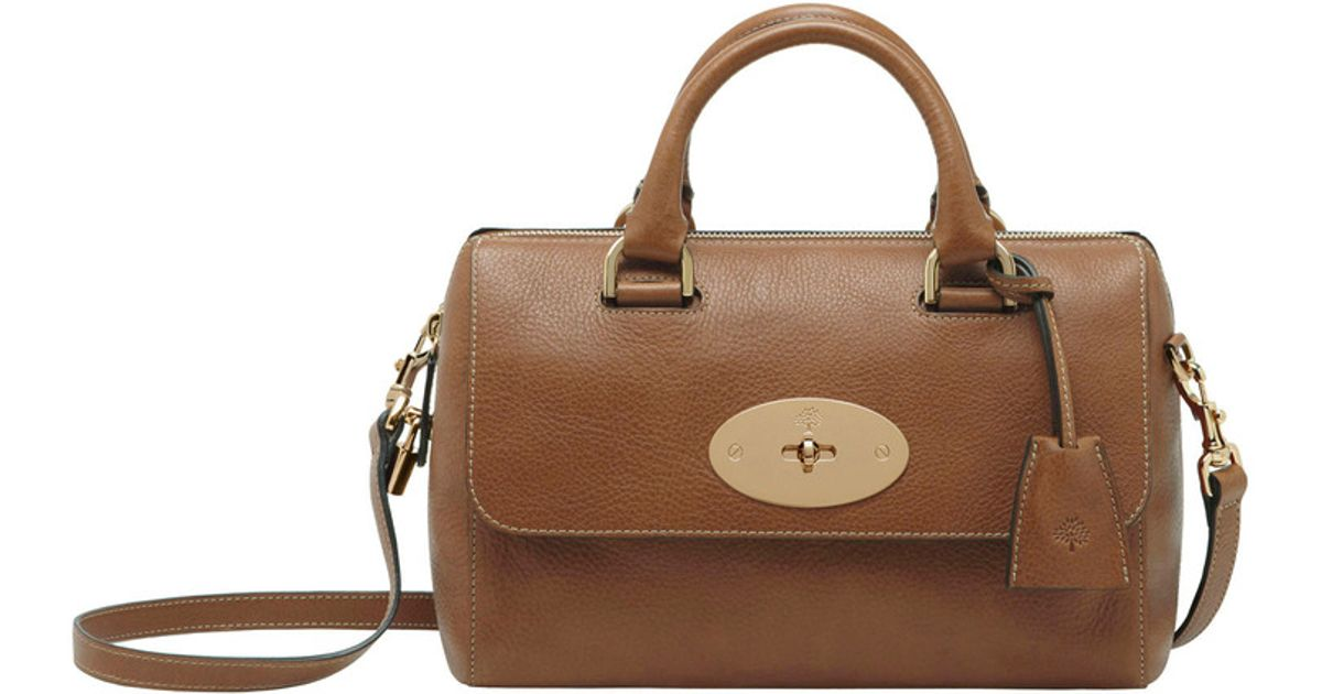 Lyst - Mulberry Small Del Rey in Brown 60ff482a774d9