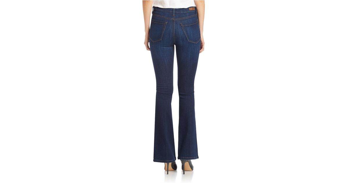 Blank nyc Mid-rise Flare-leg Jeans in Blue | Lyst