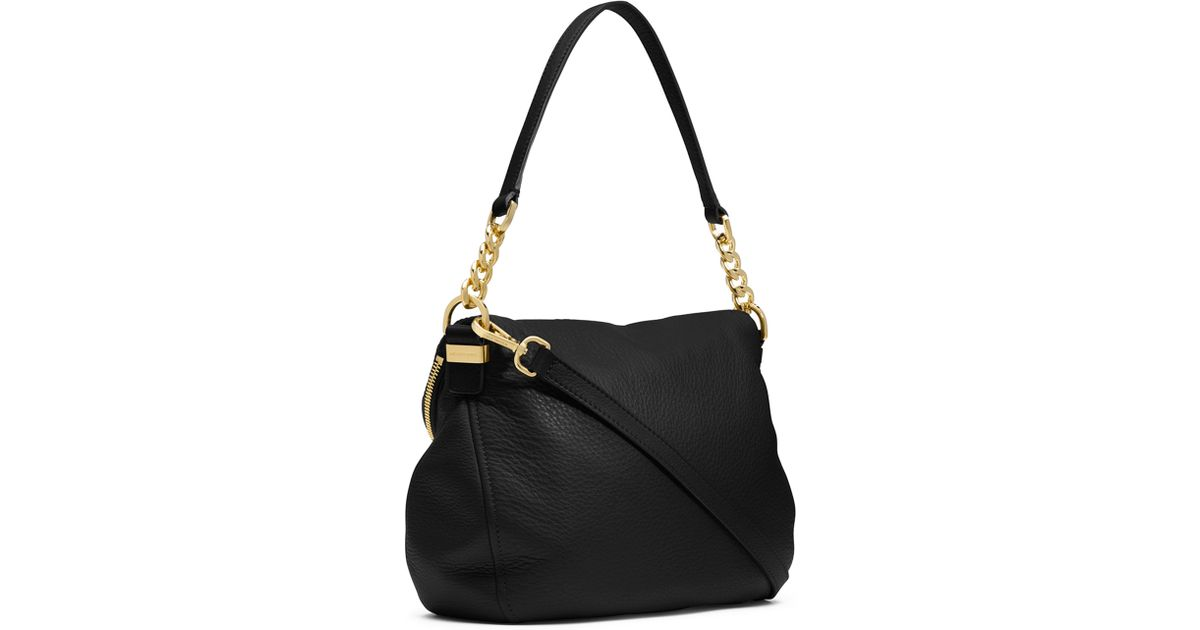 7e5267986c9dde MICHAEL Michael Kors Bedford Medium Tassel Convertible Shoulder Bag in  Black - Lyst