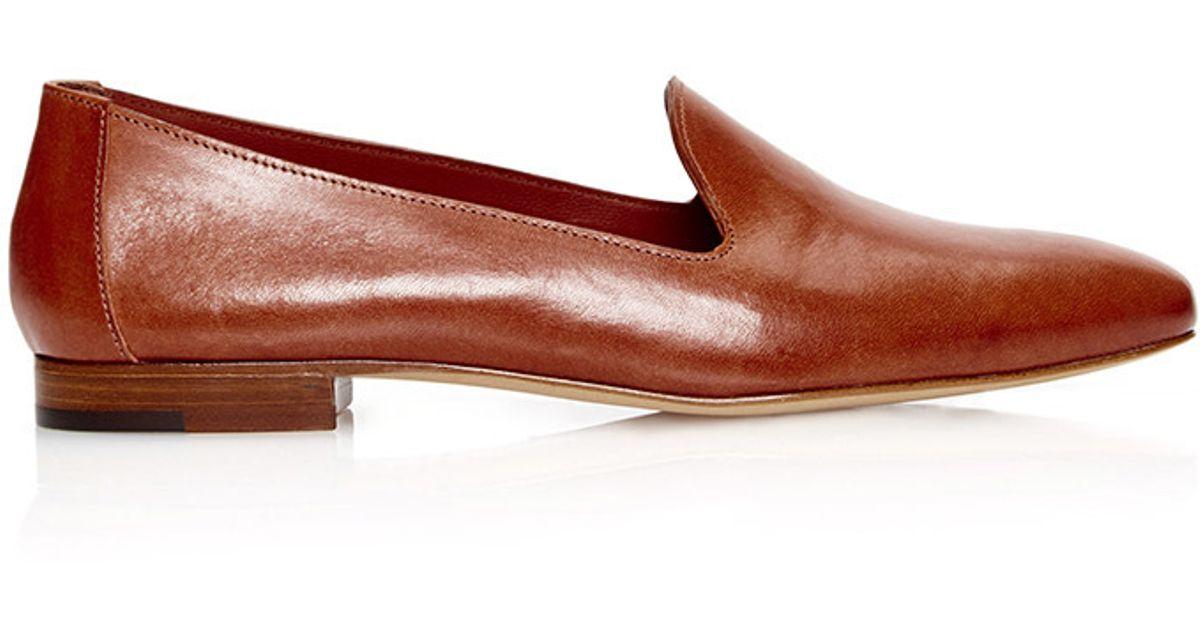 248db2c26d7 Lyst - Mansur Gavriel Venetian Loafer in Brown
