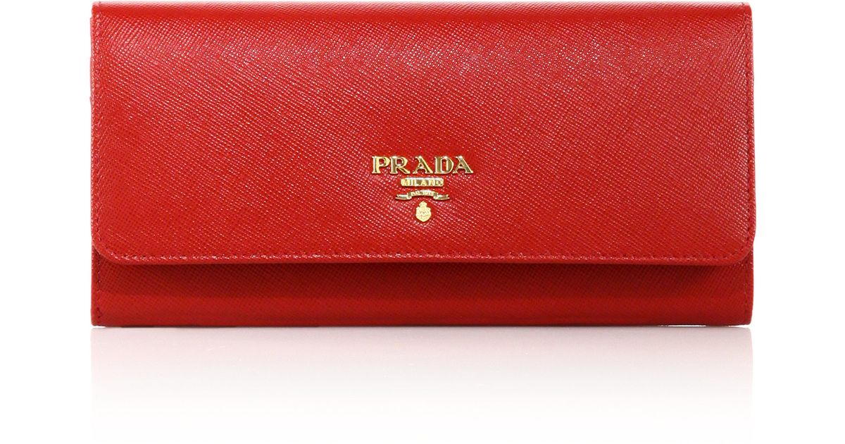 092c4644dd64 ... where can i buy lyst prada saffiano continental wallet 4b076 c6a11 ...