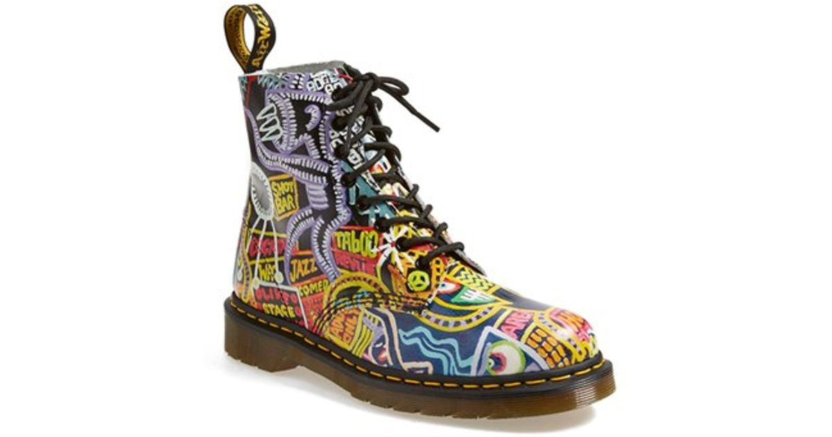 41153f40d998 Dr. Martens  pascal  Multi Kaboom Print Boot - Lyst