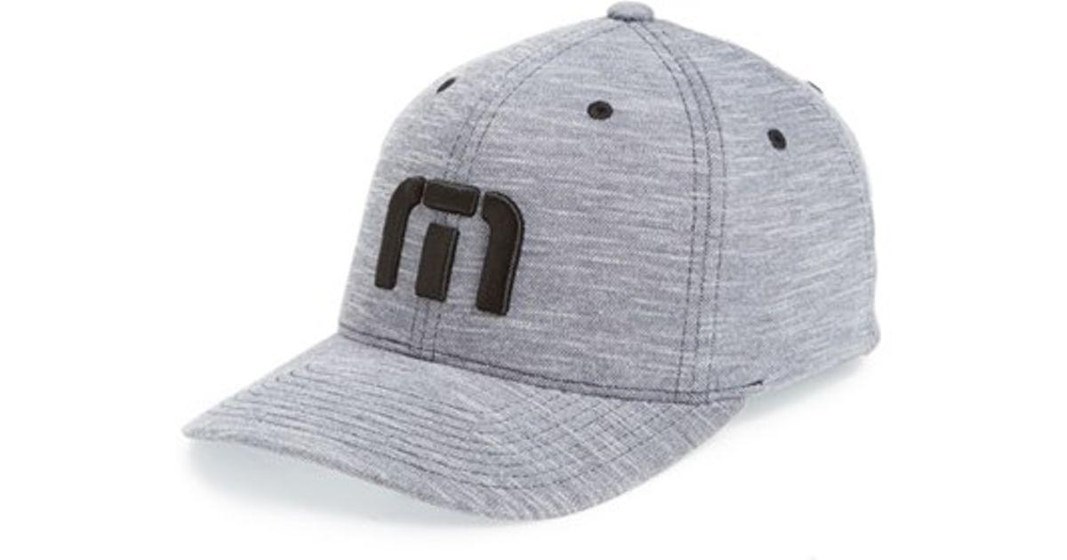 7c965694001 Lyst - Travis Mathew  plumper  Flexfit Hat in Gray for Men