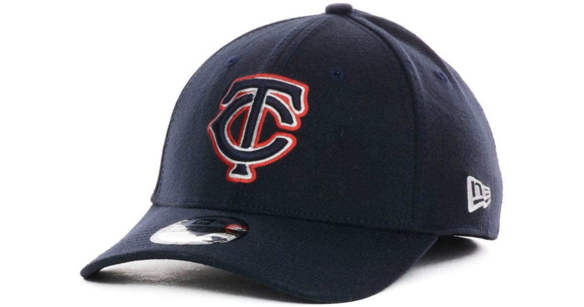 meet dded6 615a7 Lyst - KTZ New Era Minnesota Twins Team Color Tonal Ace 39THIRTY Cap in  Blue for Men