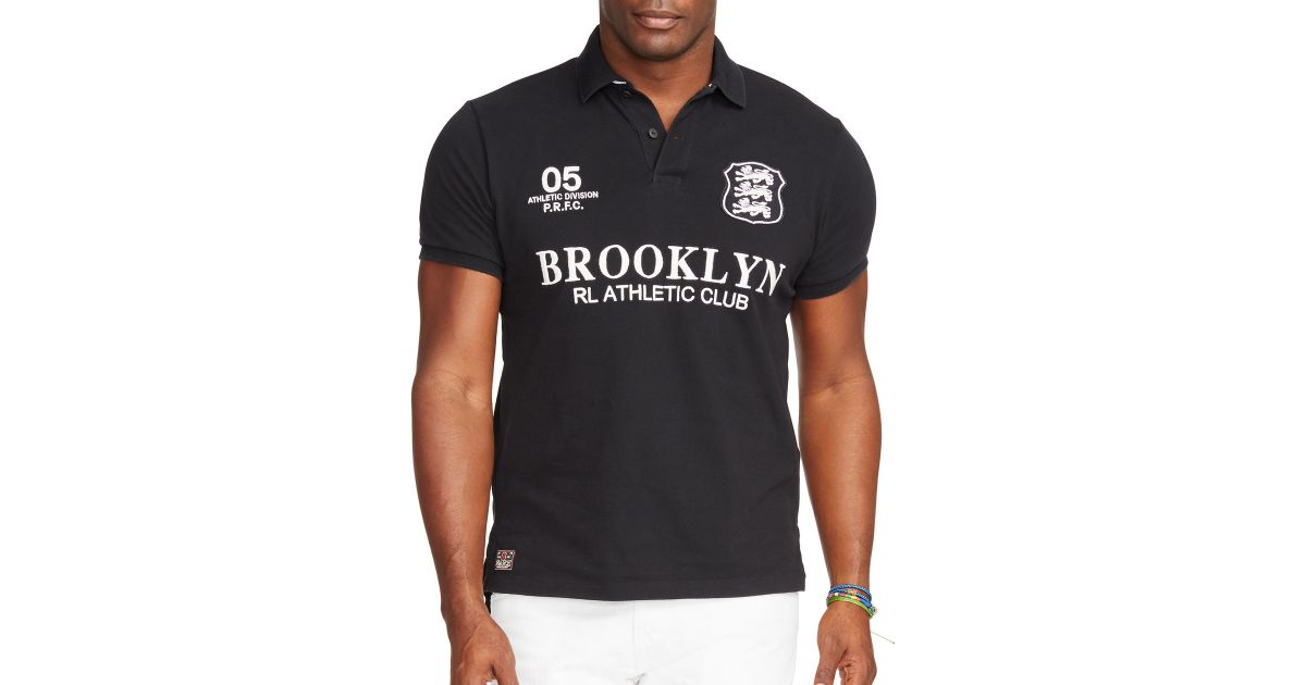 Polo ralph lauren big and tall custom fit athletics pique for Big and tall custom polo shirts