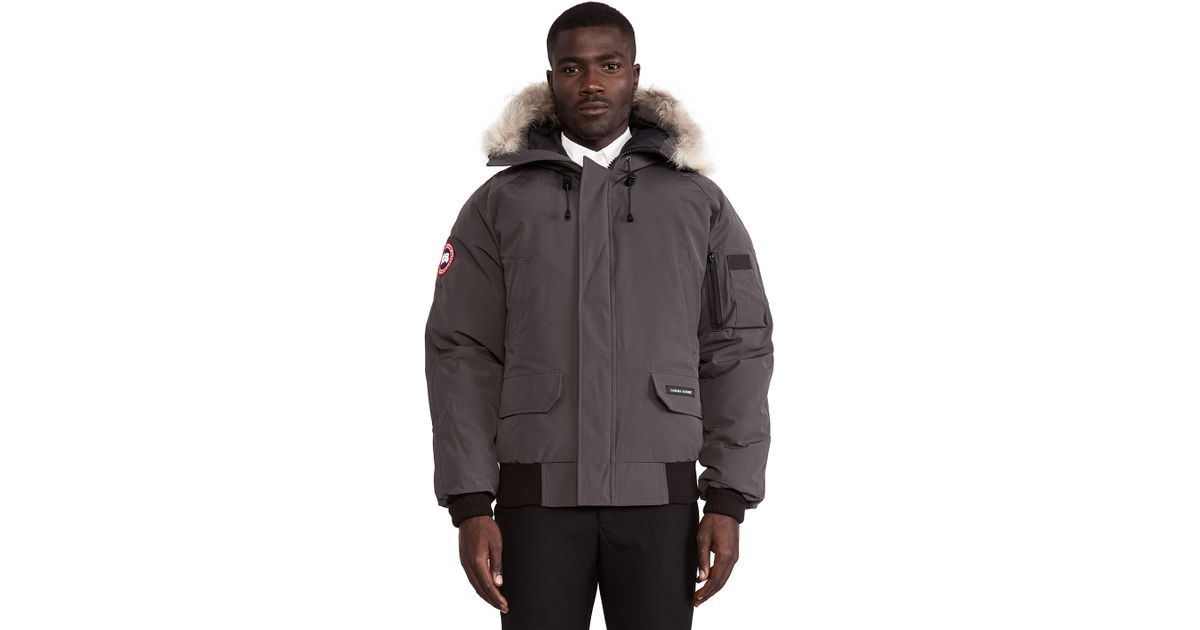 canada goose chilliwack coyote-trimmed bomber jacket