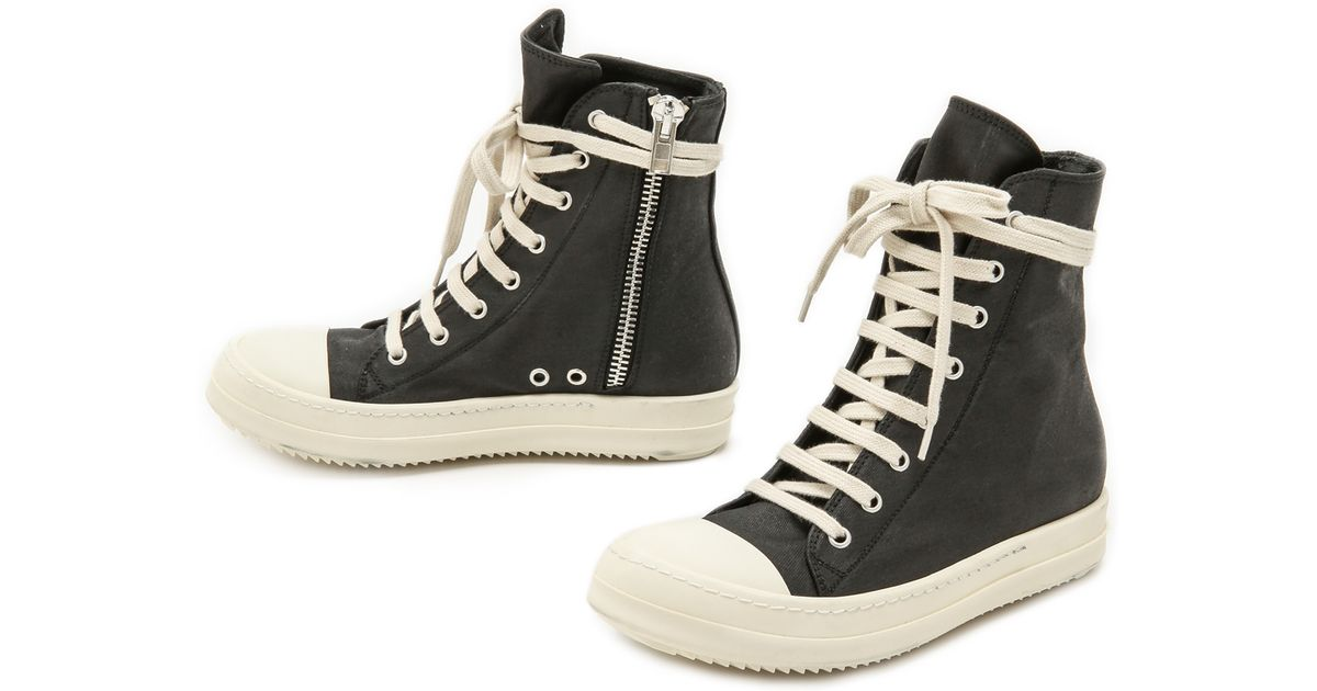 Rick Owens High-top Sneakers Cheap Sale For Cheap Discount Looking For Outlet Exclusive ONyy4