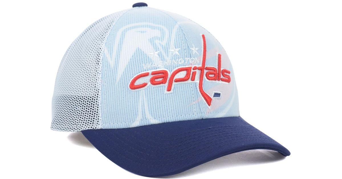 62e46aa2645243 Reebok Washington Capitals Nhl 2014 Draft Cap in Blue for Men - Lyst