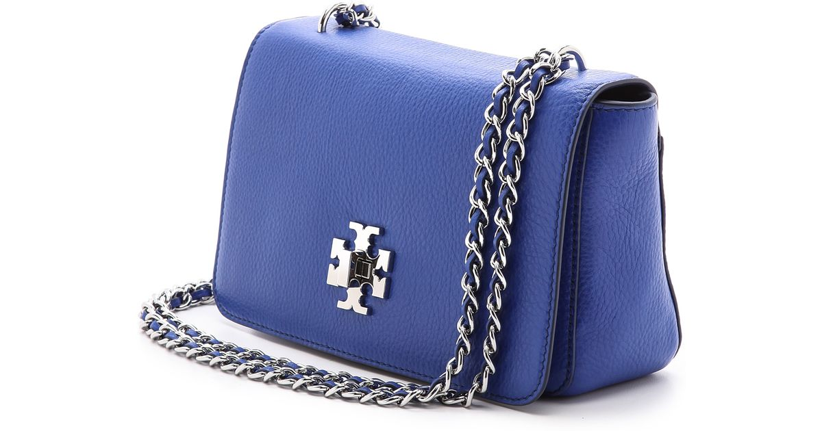 20ee4ee62bb3 Lyst - Tory Burch Mercer Adjustable Shoulder Bag in Blue