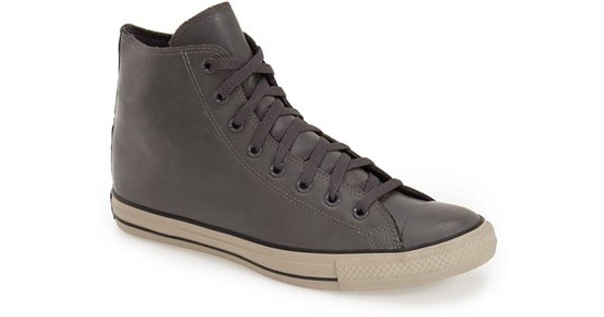 converse all star rubber shoe