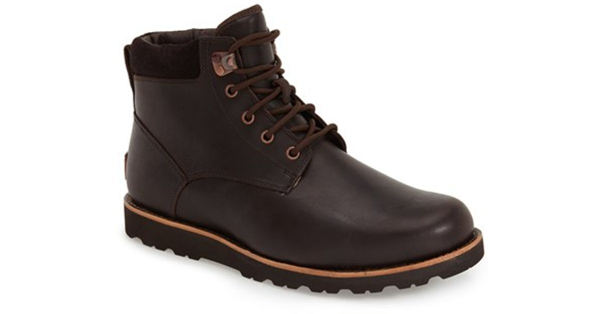 Ugg Ugg Seton Waterproof Chukka Boot In Brown For Men Lyst
