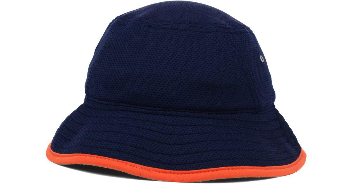 a7e97fb6658 Lyst - KTZ Chicago Bears Tc Training Bucket Hat in Blue for Men