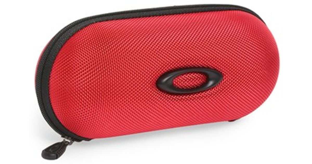 b7f0043d591 1234567891011 02c85 cheap lyst oakley reinforced nylon soft shell sunglasses  case bright red in red c8327 1b889 ...