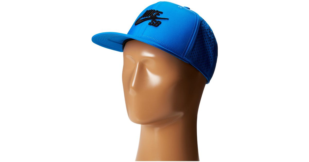 ab3a22a0 Nike Performance Trucker Hat in Blue for Men - Lyst