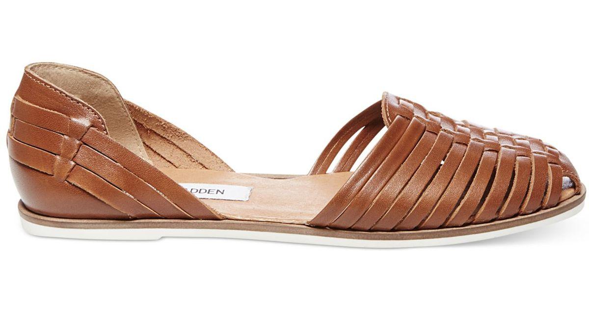 Steve Madden Women S Hillarie Huarache Slip On Sandals In